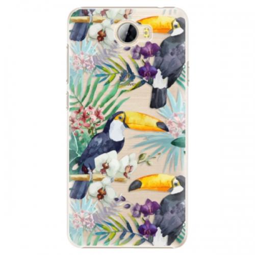 Plastové pouzdro iSaprio - Tucan Pattern 01 - Huawei Y5 II / Y6 II Compact