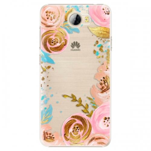 Plastové pouzdro iSaprio - Golden Youth - Huawei Y5 II / Y6 II Compact