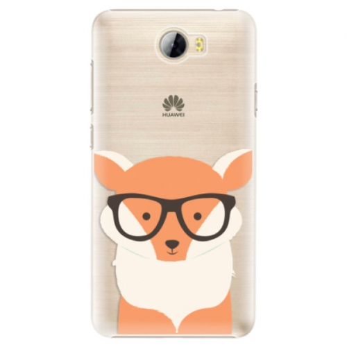 Plastové pouzdro iSaprio - Orange Fox - Huawei Y5 II / Y6 II Compact