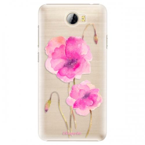 Plastové pouzdro iSaprio - Poppies 02 - Huawei Y5 II / Y6 II Compact