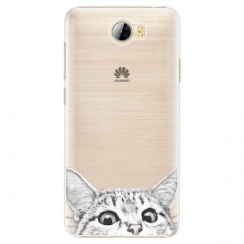 Plastové pouzdro iSaprio - Cat 02 - Huawei Y5 II / Y6 II Compact