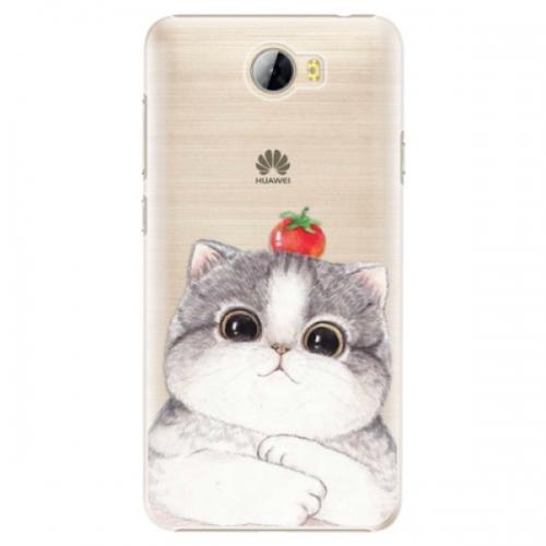 Plastové pouzdro iSaprio - Cat 03 - Huawei Y5 II / Y6 II Compact