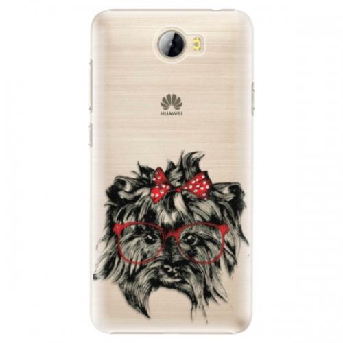 Plastové pouzdro iSaprio - Dog 03 - Huawei Y5 II / Y6 II Compact