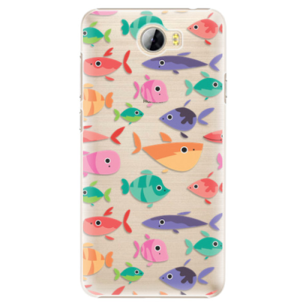 Plastové pouzdro iSaprio - Fish pattern 01 - Huawei Y5 II / Y6 II Compact