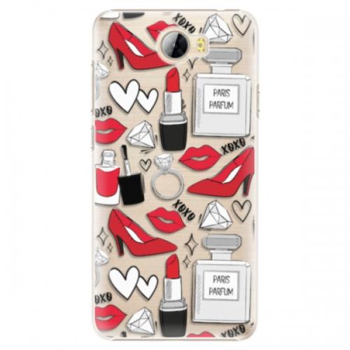 Plastové pouzdro iSaprio - Fashion pattern 03 - Huawei Y5 II / Y6 II Compact