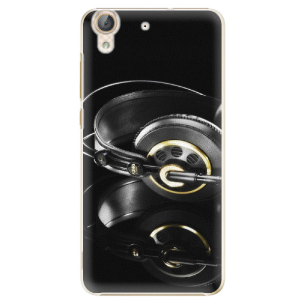 Plastové pouzdro iSaprio - Headphones 02 - Huawei Y6 II