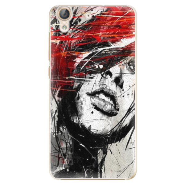 Plastové pouzdro iSaprio - Sketch Face - Huawei Y6 II