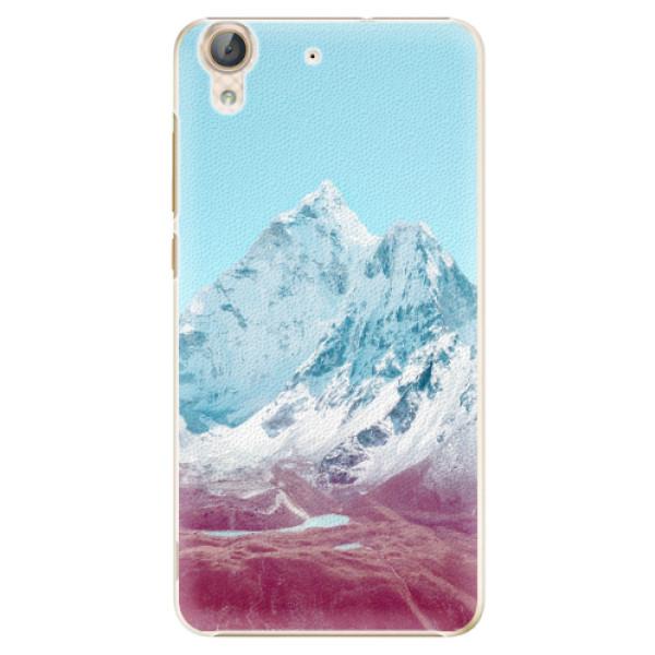 Plastové pouzdro iSaprio - Highest Mountains 01 - Huawei Y6 II