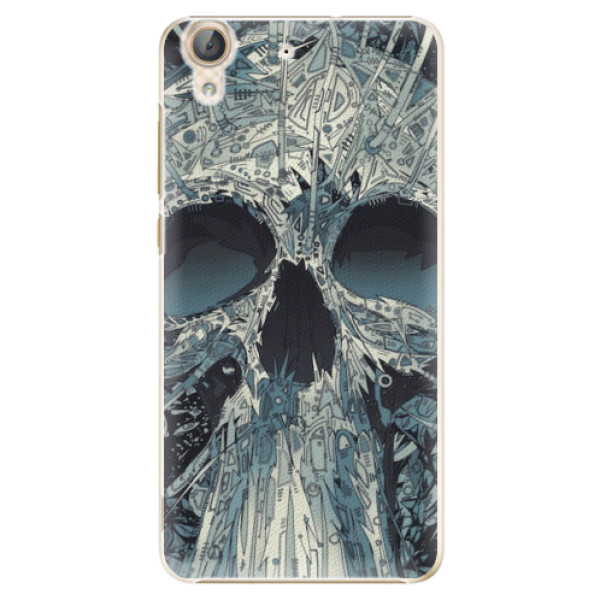 Plastové pouzdro iSaprio - Abstract Skull - Huawei Y6 II