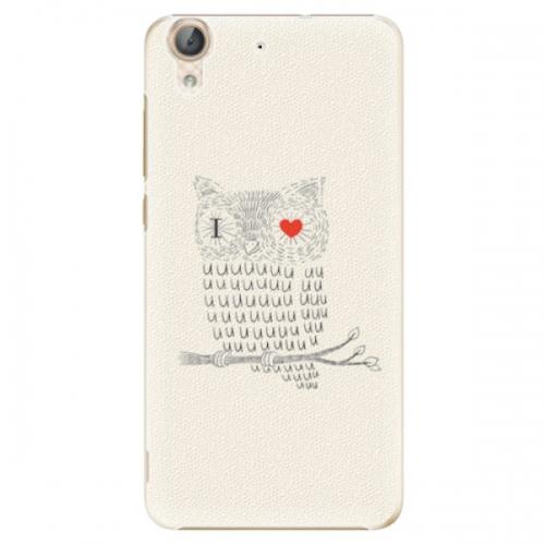 Plastové pouzdro iSaprio - I Love You 01 - Huawei Y6 II