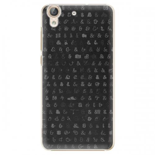 Plastové pouzdro iSaprio - Ampersand 01 - Huawei Y6 II