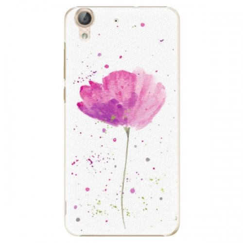 Plastové pouzdro iSaprio - Poppies - Huawei Y6 II