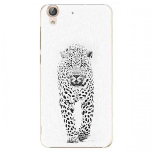 Plastové pouzdro iSaprio - White Jaguar - Huawei Y6 II