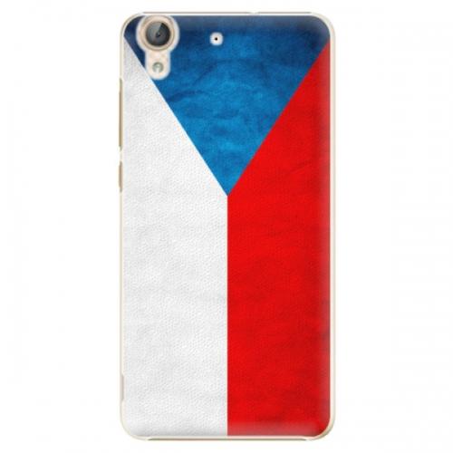 Plastové pouzdro iSaprio - Czech Flag - Huawei Y6 II