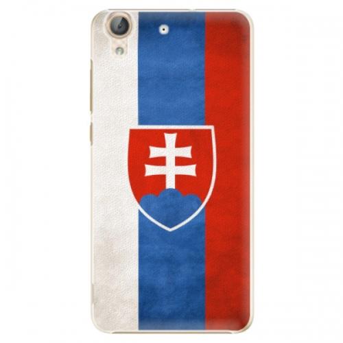 Plastové pouzdro iSaprio - Slovakia Flag - Huawei Y6 II