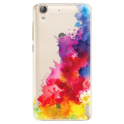 Plastové pouzdro iSaprio - Color Splash 01 - Huawei Y6 II