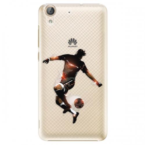 Plastové pouzdro iSaprio - Fotball 01 - Huawei Y6 II