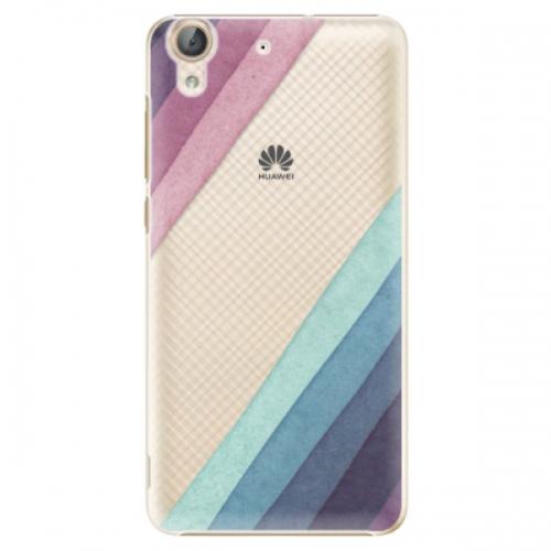 Plastové pouzdro iSaprio - Glitter Stripes 01 - Huawei Y6 II
