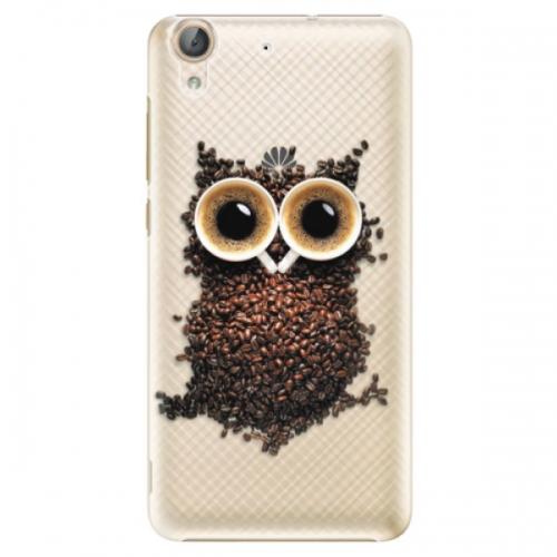 Plastové pouzdro iSaprio - Owl And Coffee - Huawei Y6 II