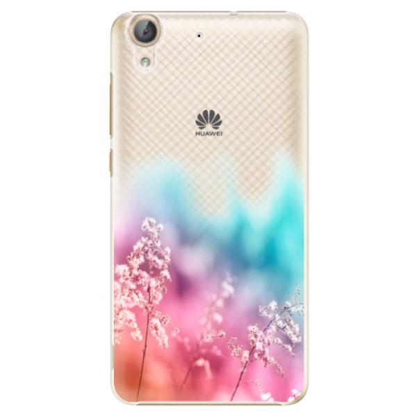 Plastové pouzdro iSaprio - Rainbow Grass - Huawei Y6 II