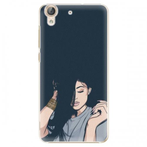 Plastové pouzdro iSaprio - Swag Girl - Huawei Y6 II