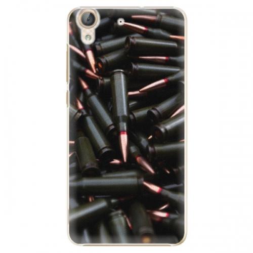 Plastové pouzdro iSaprio - Black Bullet - Huawei Y6 II
