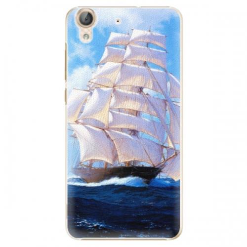 Plastové pouzdro iSaprio - Sailing Boat - Huawei Y6 II