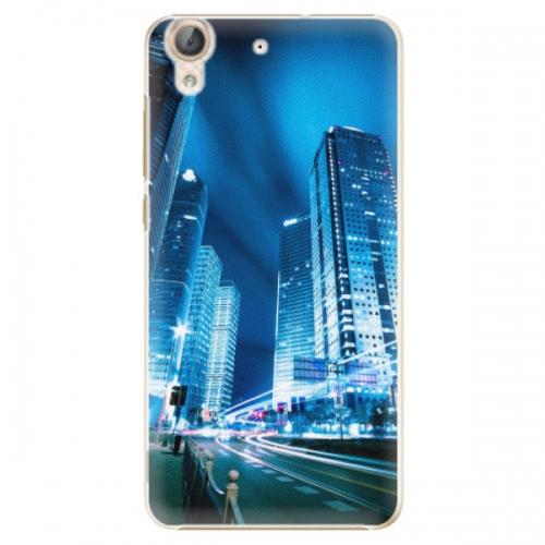 Plastové pouzdro iSaprio - Night City Blue - Huawei Y6 II