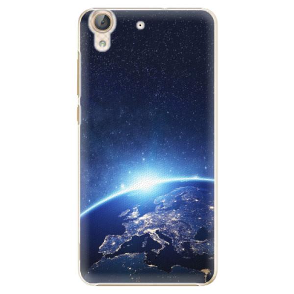 Plastové pouzdro iSaprio - Earth at Night - Huawei Y6 II