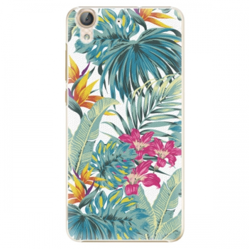 Plastové pouzdro iSaprio - Tropical White 03 - Huawei Y6 II