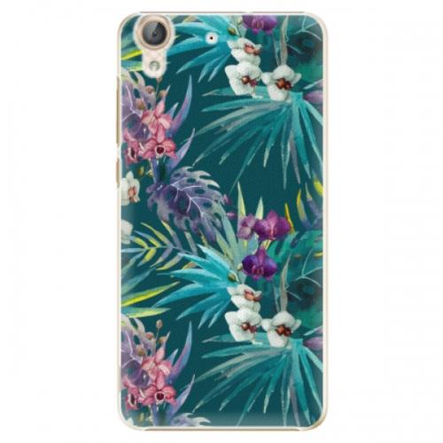 Plastové pouzdro iSaprio - Tropical Blue 01 - Huawei Y6 II