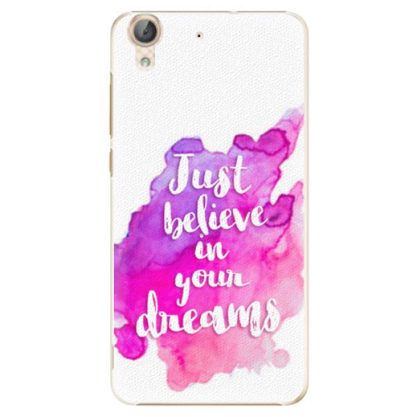 Plastové pouzdro iSaprio - Believe - Huawei Y6 II