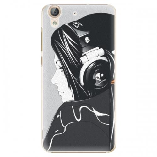 Plastové pouzdro iSaprio - Headphones - Huawei Y6 II