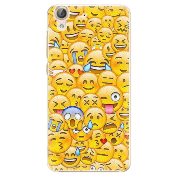 Plastové pouzdro iSaprio - Emoji - Huawei Y6 II
