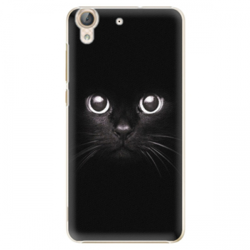 Plastové pouzdro iSaprio - Black Cat - Huawei Y6 II