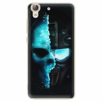 Plastové pouzdro iSaprio - Roboskull - Huawei Y6 II