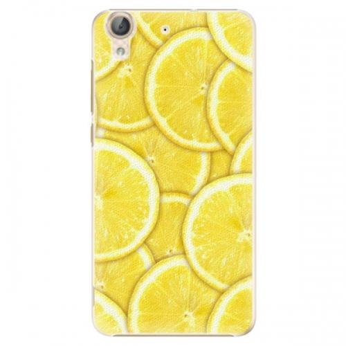 Plastové pouzdro iSaprio - Yellow - Huawei Y6 II
