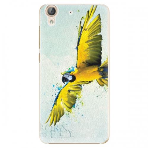 Plastové pouzdro iSaprio - Born to Fly - Huawei Y6 II