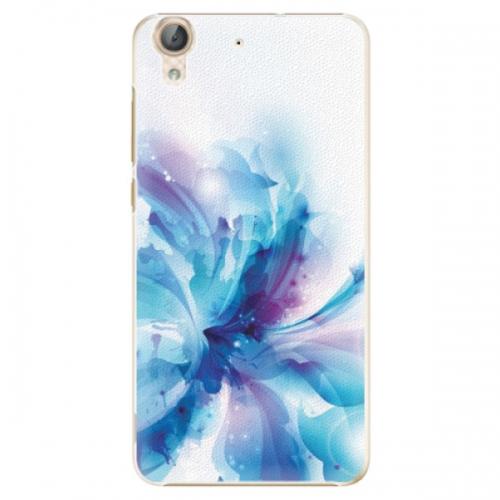 Plastové pouzdro iSaprio - Abstract Flower - Huawei Y6 II