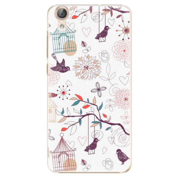 Plastové pouzdro iSaprio - Birds - Huawei Y6 II