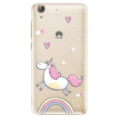 Plastové pouzdro iSaprio - Unicorn 01 - Huawei Y6 II