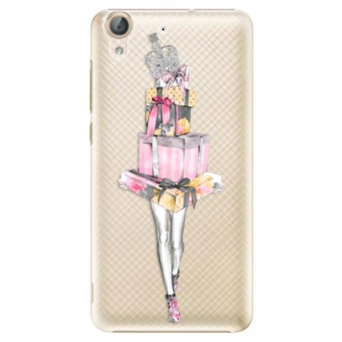 Plastové pouzdro iSaprio - Queen of Shopping - Huawei Y6 II