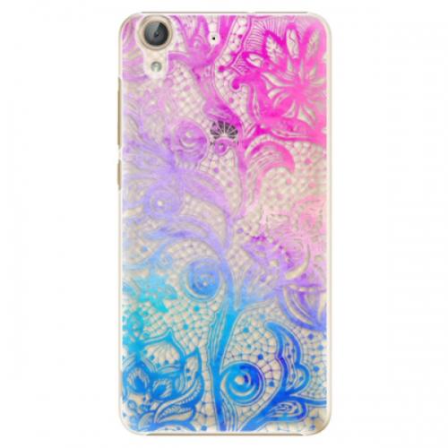 Plastové pouzdro iSaprio - Color Lace - Huawei Y6 II