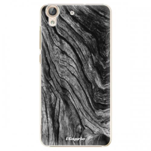 Plastové pouzdro iSaprio - Burned Wood - Huawei Y6 II