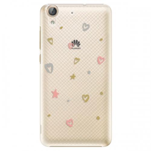 Plastové pouzdro iSaprio - Lovely Pattern - Huawei Y6 II