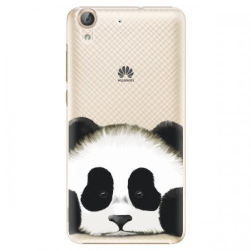 Plastové pouzdro iSaprio - Sad Panda - Huawei Y6 II