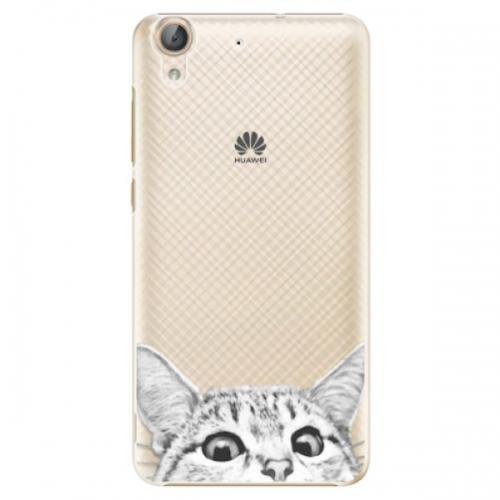 Plastové pouzdro iSaprio - Cat 02 - Huawei Y6 II