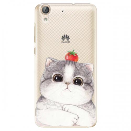 Plastové pouzdro iSaprio - Cat 03 - Huawei Y6 II