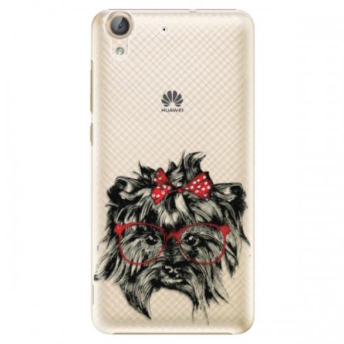 Plastové pouzdro iSaprio - Dog 03 - Huawei Y6 II