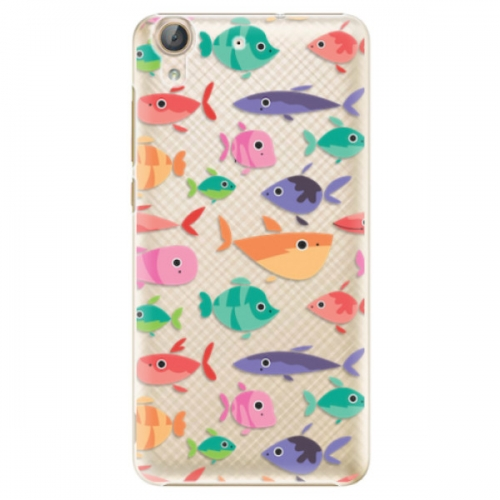 Plastové pouzdro iSaprio - Fish pattern 01 - Huawei Y6 II